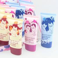 12pcs/lot 3colors BB Cream Make Up Base+Foundation Soft Ligh&Natural Cove Moisturizing 40ml B816