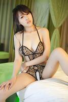 Temptation lingerie women's milk open-crotch leopard print bodysuit 1