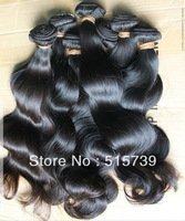 Grade 5A mixed lots Full cuticle unprocessed virgin cambodian hair weaving,full machine weft wavy queen hair products body wave