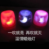free shipping Voice-activated candle ,voice control candle, acoustic control candle ,led flashing