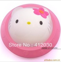 NEW Size140*55 mm Christmas gifts Baby Room Hello Kitty LED Night Sleeping Light Cute Baby Kid mood Lamps 3pcs Free shipping(China (Mainland))