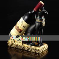 Egypt Style Resin Cat Wine Alcohol Holder Stylish Classic Design Fashion Gorgeous Creative Free Shipping