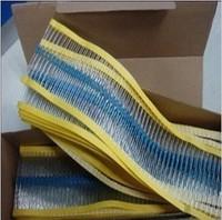 Free Shipping 1000PCS 1/4W Watt 2.2K 2K2 ohm 2.2K ohm Metal Film Resistor 0.25W 1% ROHS