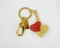 4-32GB Double heart Model USB 2.0 Flash Memory Pen Drive Stick U57