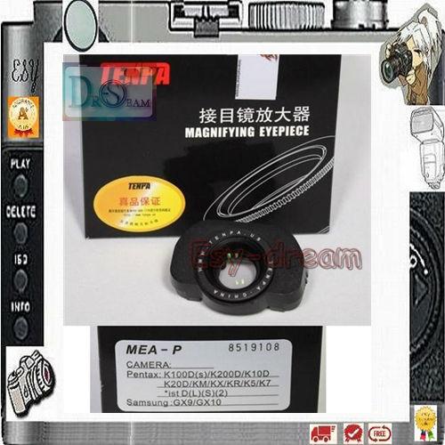 TENPA 1.36x ViewFinder Magnifier Amplifying Eyepiece Eyecup For Pentax K5 K5II K3 K50 K30 K100D K200D K10D K20D Km Kr Kx K7(China (Mainland))