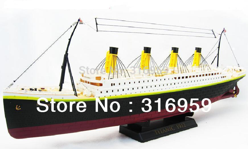 Free EMS Shipping Radio Control Titanic Sea Jumbo Cruise Large Ship 3D Titanic Ship light RC Toys(China (Mainland))
