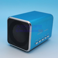 Mini Portable Speaker Sports MP3 Player Sound box Boombox with Micro SD/TF card reader + USB Music Angle MD05 Free Shipping