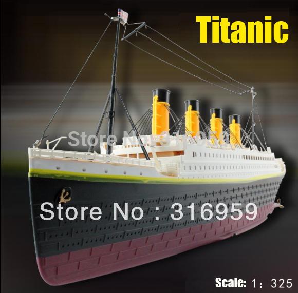 Escala 1:325 titanic mar grand crucero buque 3d titanic rc barco siglo clásico amor del buque de alta de simulación de grandes juguetes del rc