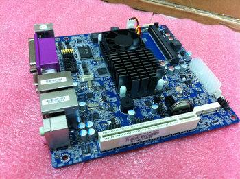 Asl intel atom d2550 motherboard dual network card 6com kilomega motherboard mini itx
