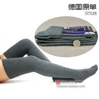 Women's over-the-knee socks 100% cotton boot socks  ,free shipping