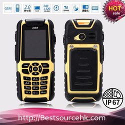 Waterproof Outdoors Mobile Phone Walkie Talkie with GPS Compass A85(Hong Kong)