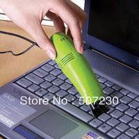 DHL Free Shipping! 100pcs/lot NEW 100% ABS USB Mini  Vacuum Cleaner Wholesale  Retail package