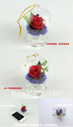 Valentine's Day gift ideas Christmas romantic birthday gift, never wither flower +Freeshipping(China (Mainland))