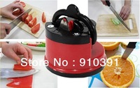 Free shipping knife sharpener with suction pad,any sharp safety knife slicker for kitchenware Knife sets as Grinding tool.