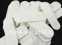300/pcs Felt 90mm oval white Appliques - Free Shipping