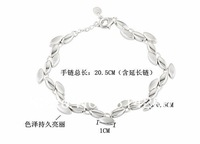 Free  shipping  925 sterling silver jewelry female bracelet