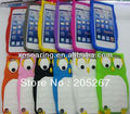 Cool owl silicon case back cover for ipod touch 5