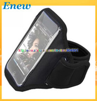 Free shipping by HK post Sports Running Armband Case Workout Armband Holder Case Waterproof Armband Case for Iphone 5G,4G 4S