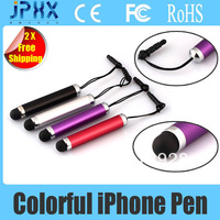 Free Shipping-------------Super Mini Stylus Pen for iPhone4/4s/5  iPad1/2/3 iPad mini iTouch