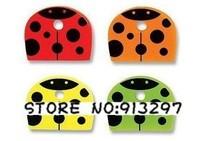 wholesale retail cute PVC Key Caps Covers Keys Set Easy Colourful Colorful set protector Identifier Keychain Case Shell 4pc/set