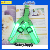 Free shipping by DHL Hot sell LED pet collar,LED dog collar,dog harness,led dog harness
