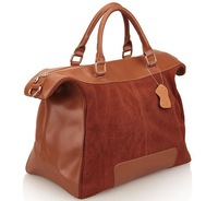 2013 New 100% Real Genuine cow Leather handbags woman suede leather,high quality  tote bags ,drop Shipping LE39s