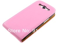 Free shipping 100pcs/lot  For Samsung i9300 Leather Case  Flip Genuine Leather Case Cover Shell for Samsung Galaxy S III 3 I9300