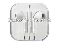 10PCS/Lot, In-Ear Earphone with remote and mic  for cellphone. Free Shipping!