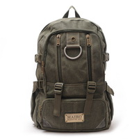 Bags general 2012 men's   travel  student school  canvas  backpack bags free shipping