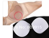 10pair/lot White Sewing in Bra Cups Soft Foam Size M J0824-2