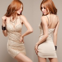 Women full Sleeve Lace stitching wrap chest high waist Sexy Dress 2013 Summer New, drop shipping Free shipping W1312