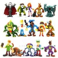 LOT 15 Scooby doo Shaggy Fred Velma Daphne Scheletro Vampire Dracula Figures M44