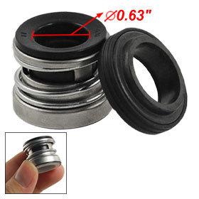 2 Pcs 104-16 16mm Spring Inbuilt Mechanical Shaft Seal for Water Pump Free shipping