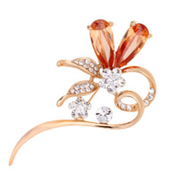 Brooch mewox kalyptolith crystal fashion quality brooch female hyacinty
