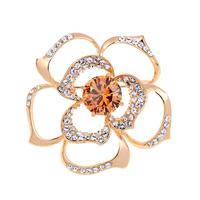 Gift 2012 mewox austria crystal corsage big flower
