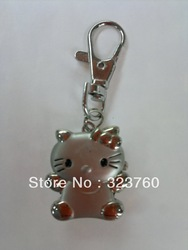 2012 For Children Kids' Watch Pocket Lovely Hello Kitty Watches With Chain Fashion Key Chain(China (Mainland))