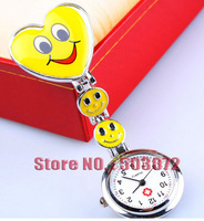 Hospital Nurse Smiling face Hanging timer Watch Japan Movement Performance lasting 40 pcs/lot Free shipping DHL