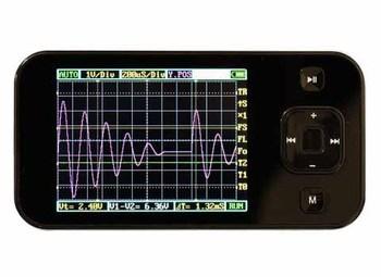 100 % VICTOR Auténtico 101 VC101 Mini Osciloscopio digital de bolsillo 2.8 '