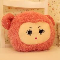 Cartoon thermal pillow little sheep hand warmer pillow cushion  nap pillow