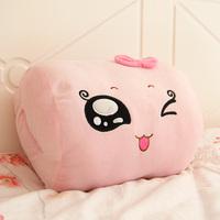 Cartoon thermal mandoo tofu hand warmer pillow cushion kaozhen bread pillow