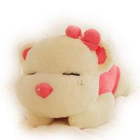 Birthday gift bear doll plush toy heavly doll tare panda pillow