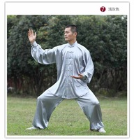 classic stretch yarn martial arts wear kung fu uniform tai chi uniform for men and women spring Autumn free shipping