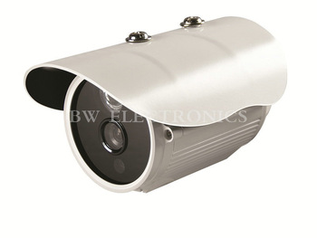 2pcs/lot Free Shipping 1/4'' 700TVL CMOS Bullet Camera With IR-CUT 20M Night Vision Waterproof IP66 BW3C7CR