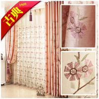 Chinese style classical curtain window screening curtain crumple QIUSHUIYIREN