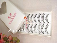 Free shipping,99 hot sale pure manual supernatural studio dedicated  fake eyelash,simulation cottiers false eyelashes,10sets/lot