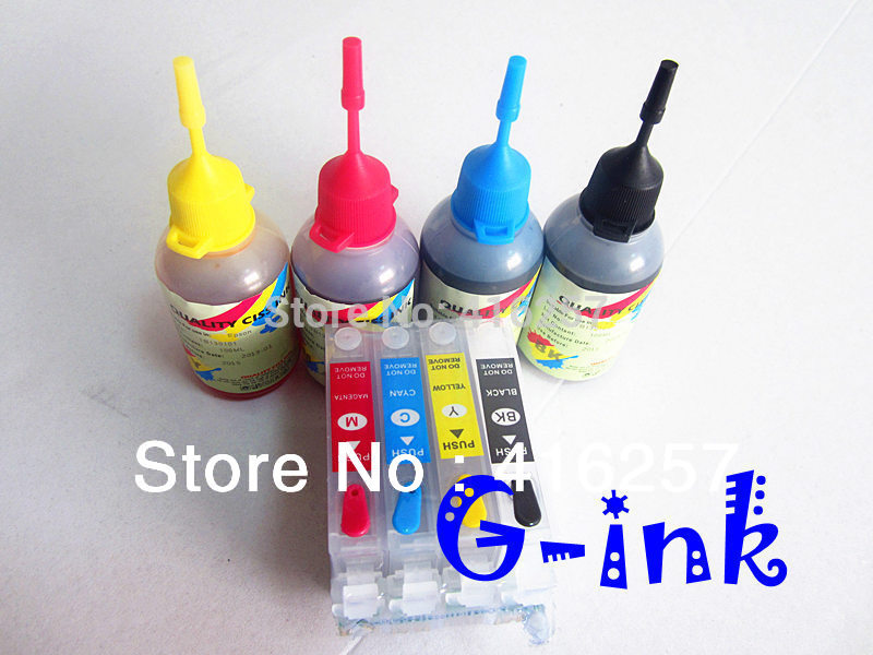T0715 Ink Kit For Epson Stylus B40W BX300F BX600FW BX610FW D78 D92 D120 DX4000 DX4050 DX4400 DX4450 DX5000 DX5050 printer ink(China (Mainland))