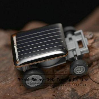 mini solar car kit for kids running fast on the sunlight gadget new railway diy kit for children solar panel toys