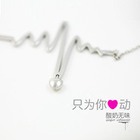 Christmas gift yyogurt necklace female pure silver jewelry