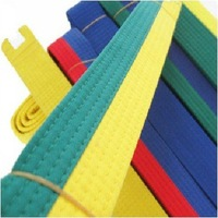 New taekwondo standard belt  mutiple color 2.2m and 2.8m available 6 pcs / lot