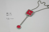Yyogurt jewelry pendulum clock style necklace free air mail